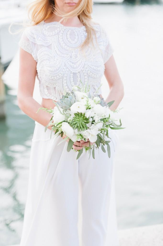 Seaside Sequins Wedding Bouquet