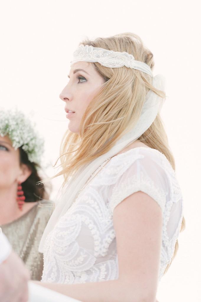 Sequins Seaside Wedding
