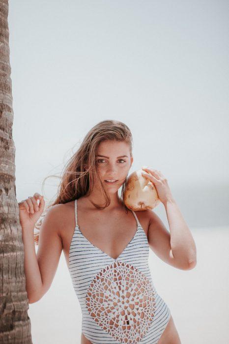 Swimwear Model Test Shoot in Miami