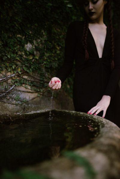 Wednesday Addams Portraits Miami Halloween